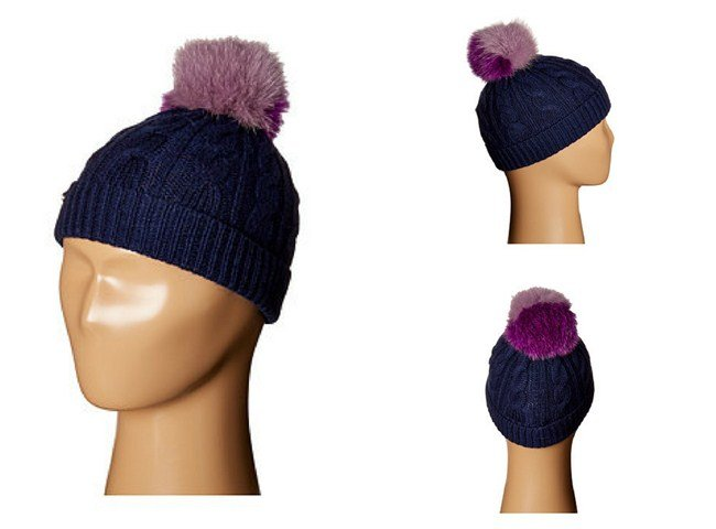 Burberry Kids PPM Cable Knit Hat