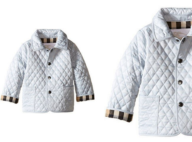 Burberry Kids Colin Quilted Jacket (Infant, Toddler)