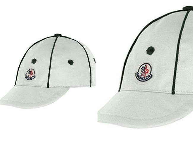 Moncler Kids' Twill Baseball Cap with Contrast Piping