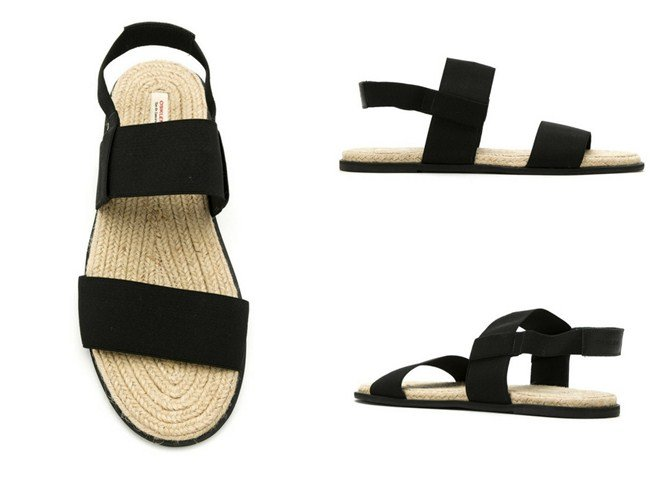 Osklen leather flat sandals