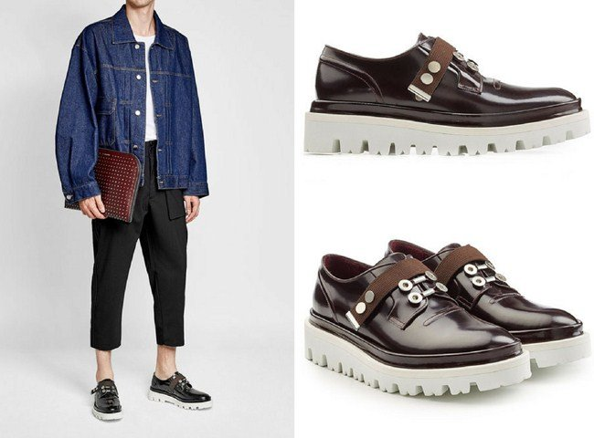 OAMC Patent Leather Oxfords