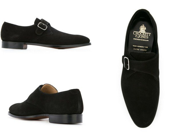 Crockett & Jones formal monk shoes