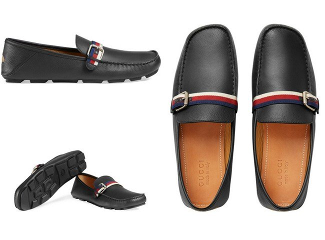 Gucci Driver shoes with Sylvie Web buckles