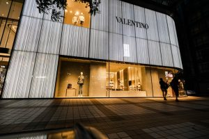 Valentino store in Beijing China
