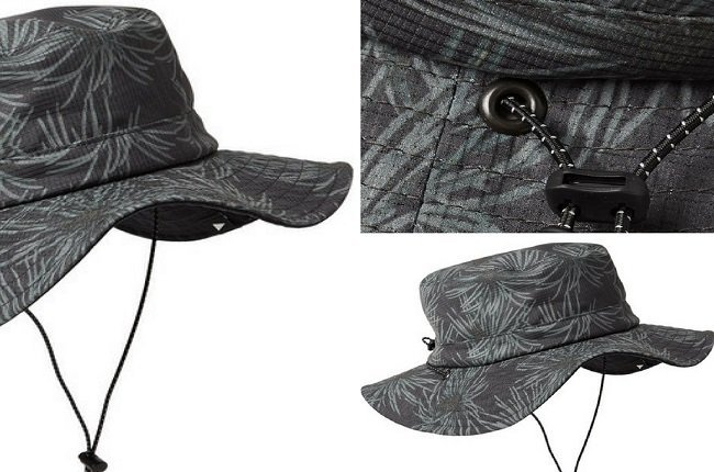 And WanderReversible Printed Canvas Bucket Hat