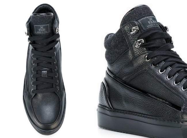 FABI hi top trainers