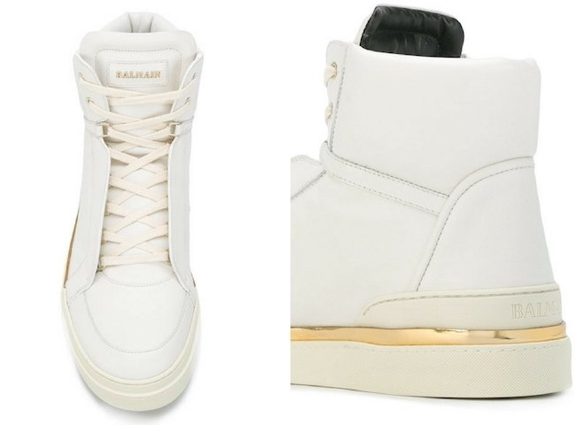 BALMAIN Atlas high-top trainers