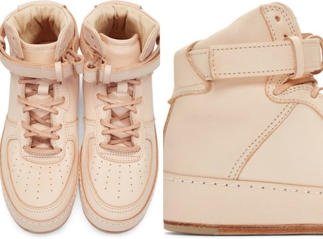 Hender Scheme Beige Manual Industrial Products 01 High-Top Sneakers
