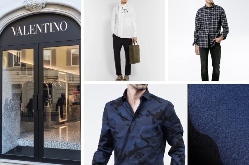 Top 16 Most Striking Valentino Smart Casual Shirts for Men