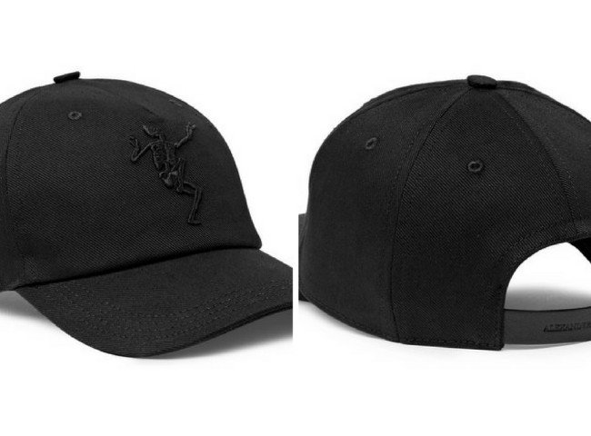 ALEXANDER MCQUEEN Embroidered Stretch-Cotton Twill Baseball Cap