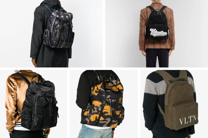 Top 18 Coolest Men's Valentino Backpacks