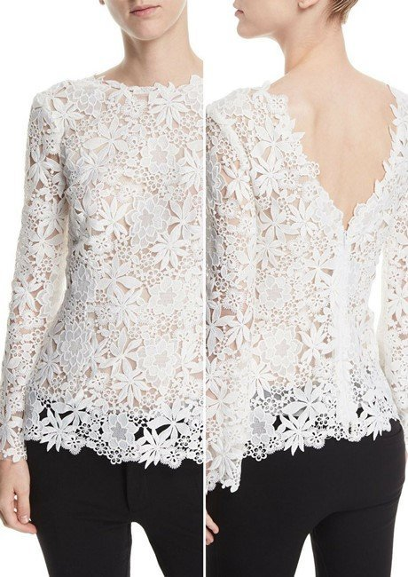 58597110cf 40 Most Lovely Women's Designer Lace Tops in 2018