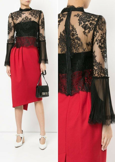 AULA lace top