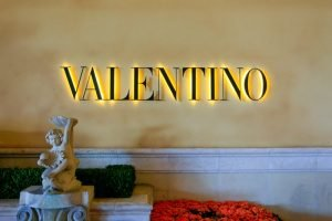 Valentino fashion store in Las Vegas