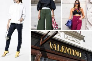 Top 18 Most Stunning Women's Valentino Trousers and Pants