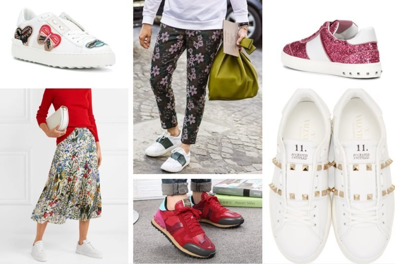 13 Women's Valentino Sneakers You Must