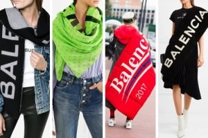 Protect Yourself and Look Cool with These 14 Balenciaga Women's Scarves