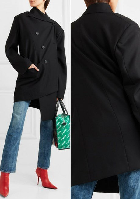 2cb842984f891 Our Favorite Best-selling Balenciaga Jackets   Coats for Women in 2018