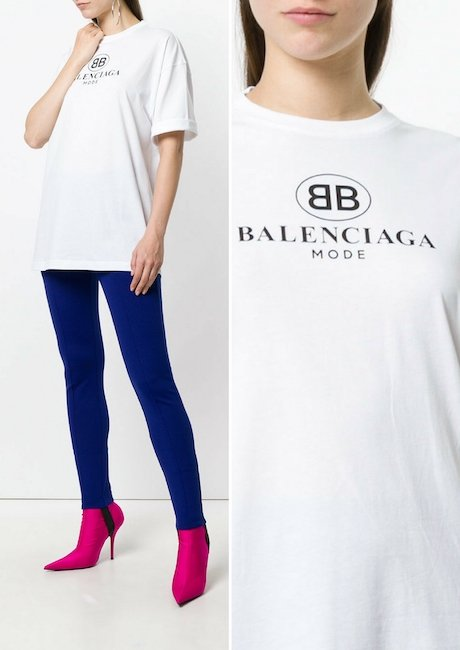 BALENCIAGA BB Oversized T-shirt