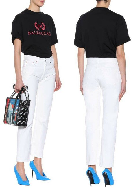 Balenciaga High-waisted jeans