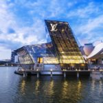 The futuristic building of Louis Vuitton shop in Marina Bay, Singapore - Most Respected Fashion Designer Brands Featured image