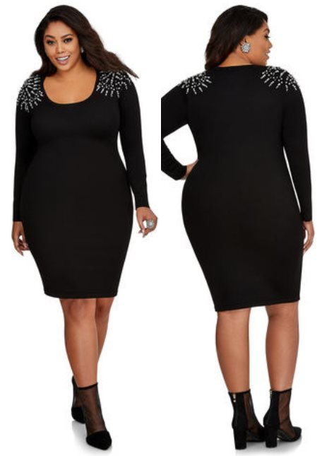 Top 24 Plus Size Sweater Dresses Worth Investing In 2018