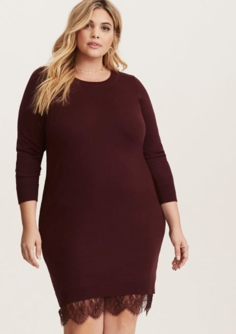 e67cfc337cc Top 24 Plus Size Sweater Dresses Worth Investing in 2018