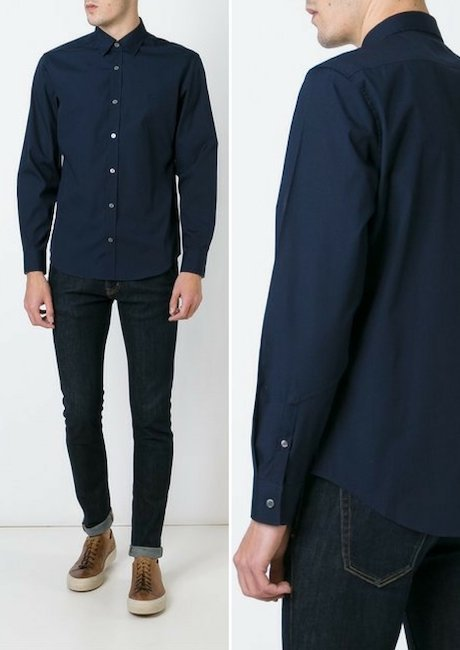 BURBERRY long-sleeved shirt