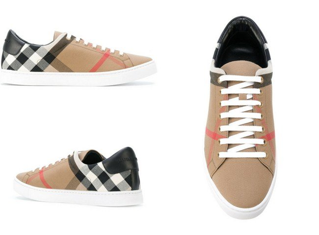 Burberry house check sneakers