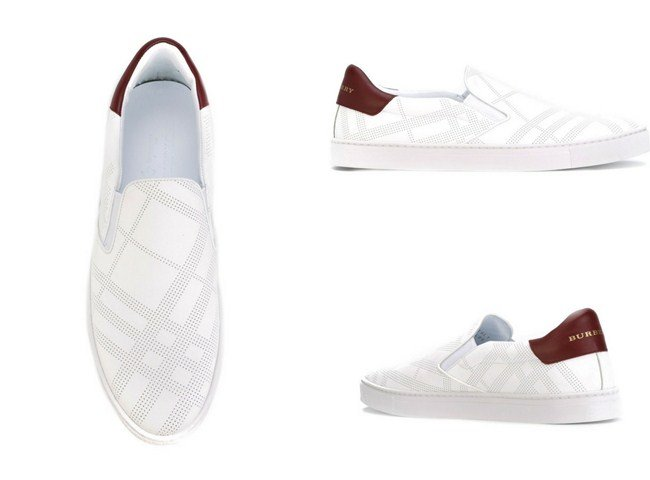 ee8280867ad Burberry slip-on sneakers. Top 14 Most Stylish Men s Burberry Sneakers