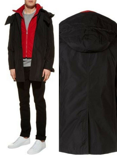 Burberry Technical Coat with Gilet