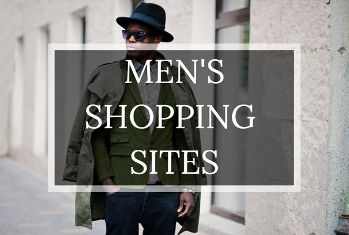Top fashion shopping sites for men - Humble and Rich