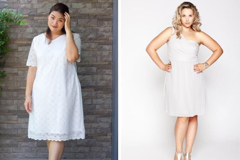 20 White Party Dresses For Sexy Curvy Plus Size Women-1708