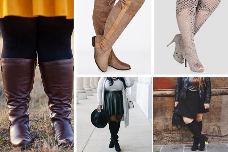 14acf815154 Top 15 Websites to Shop for Plus-Size Wide Calf Boots