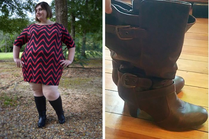 Plus-Size Wide Calf Boots