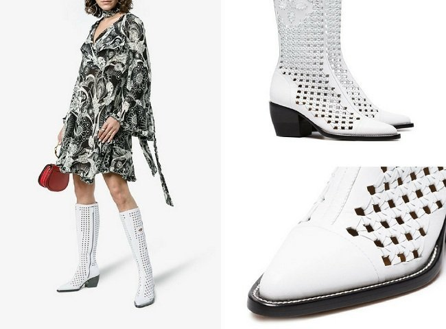 Very Attractive Chloé Boots for the Ladies