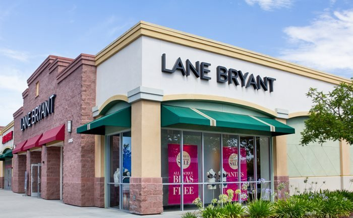 Lane Bryant outlet in GILROY, California, USA