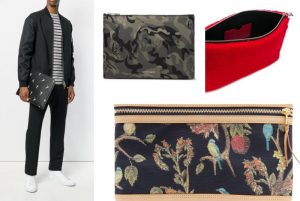 Top 9 Alexander McQueen Clutches and Pouches for Men