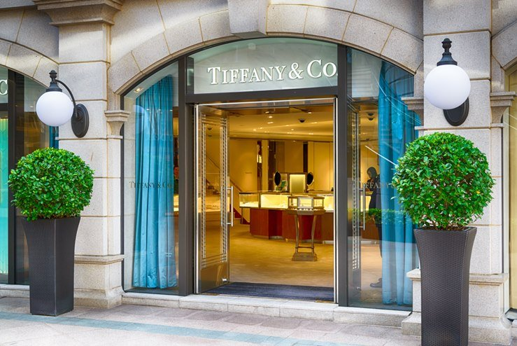 Tiffany and Co. Boutique in Hong Kong.