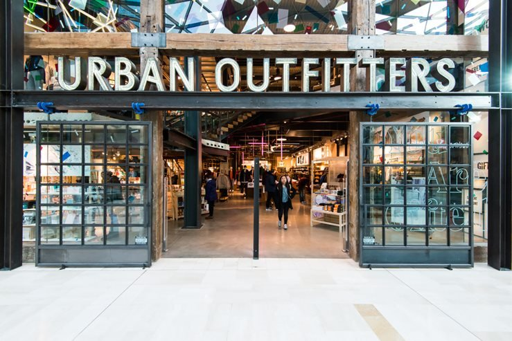 Urban outfitters in London, UK.