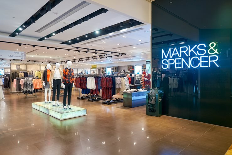 Marks & Spencer Store in Macau, China.