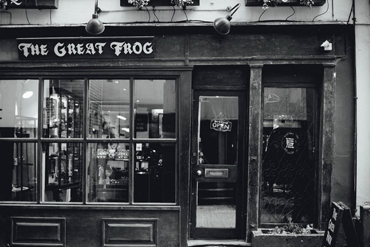 The Great Frog Boutique in London