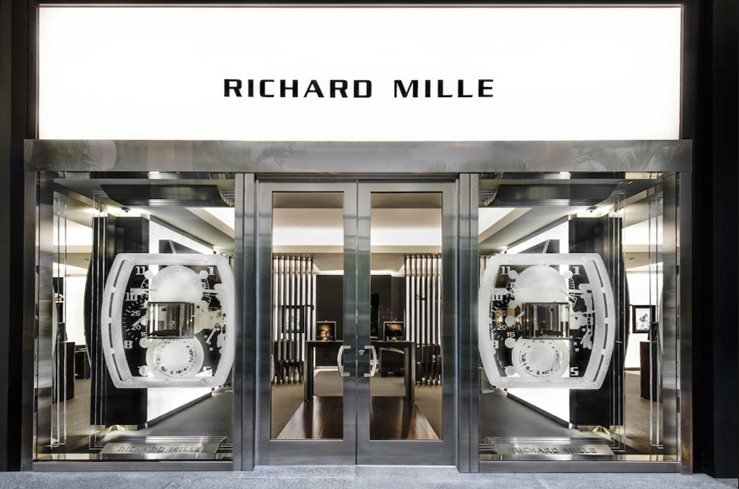 Richard Mille's boutique in Bal Harbour.