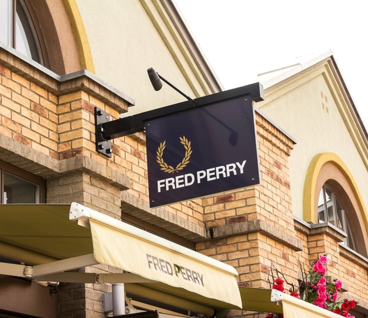 Fred Perry Boutique in Ingolstadt, Germany.