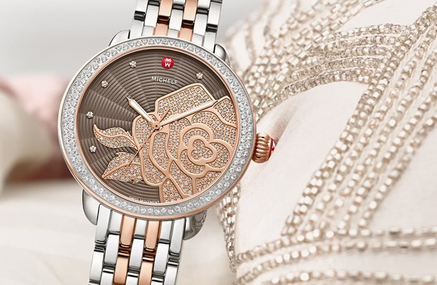 Michele Watch and Jewelry