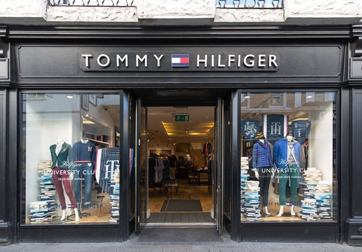 Tommy Hilfiger boutiqune in Galway, Ireland