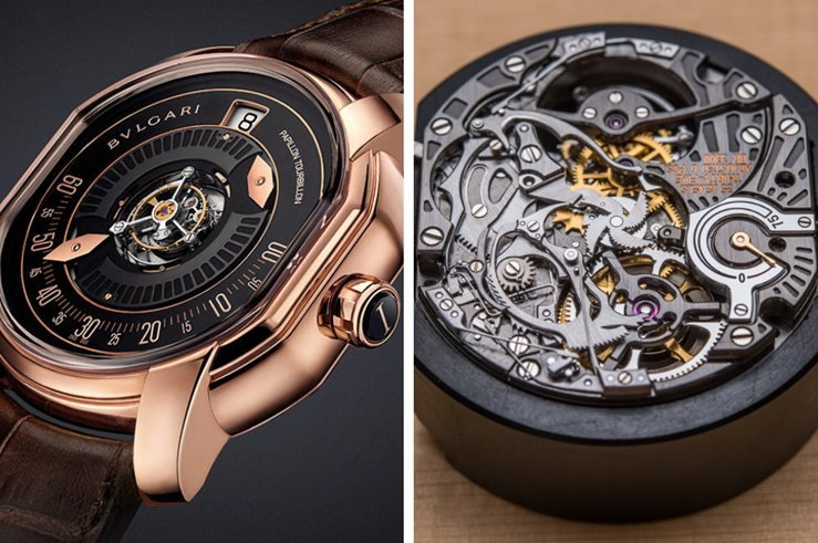 Bvlgari HAUTE HORLOGERIE - Movement and Complication
