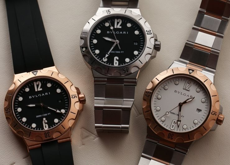 Bvlgari DIAGONO Scuba Watches
