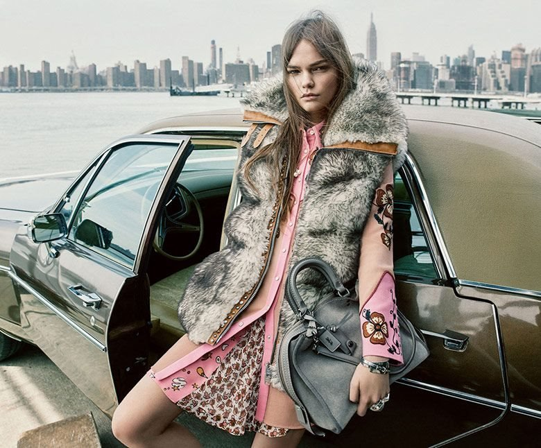 Coach FW 16-17 Campaign by Steven Meisel