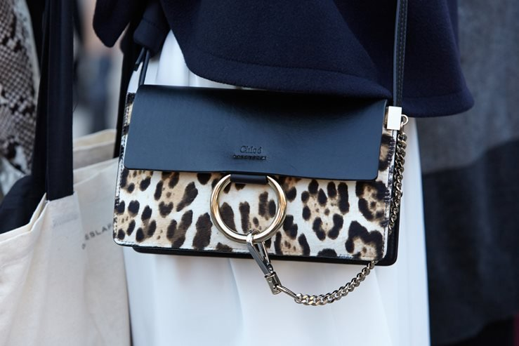 Chloe bag before Chloe fashion show in Paris